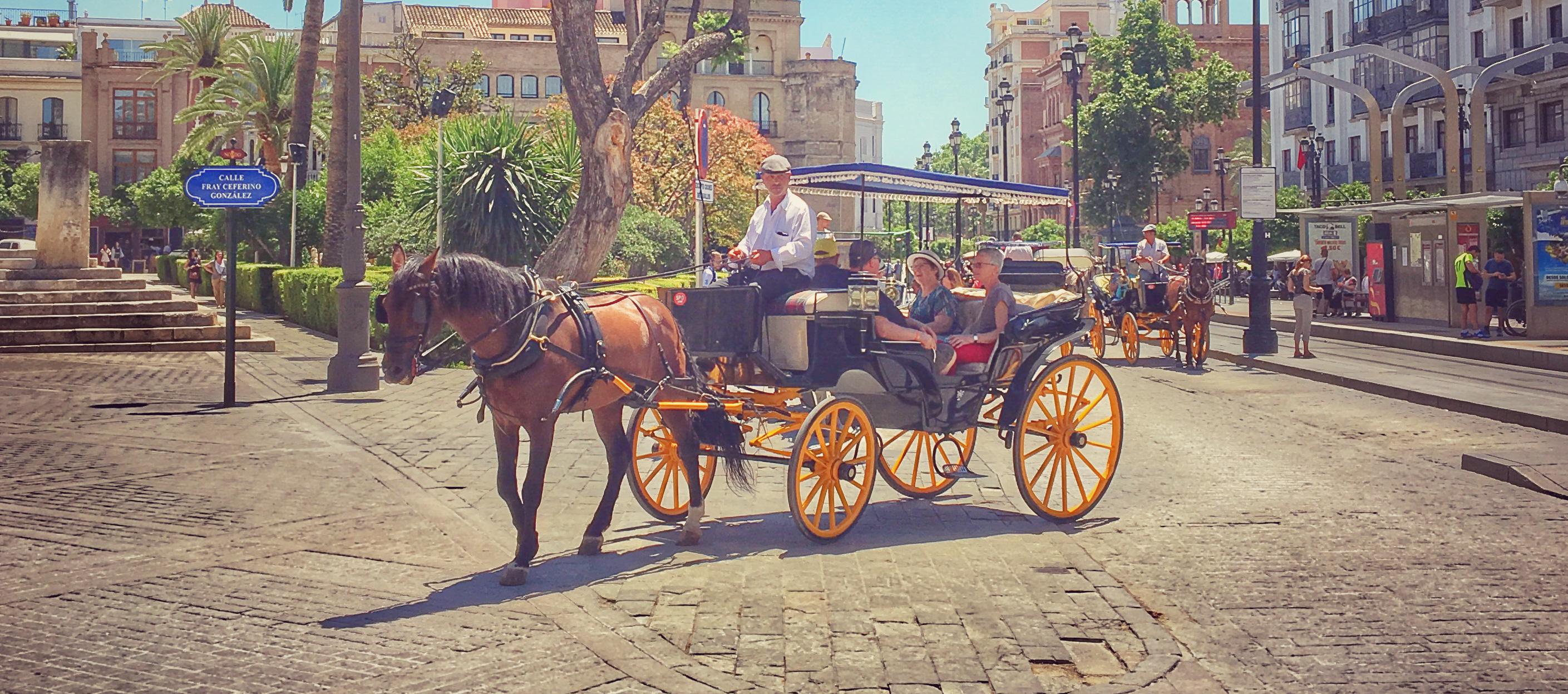 España: la tierra en la que nos sentimos parte pero en la que somos turistas! Parte 1: Sevilla.